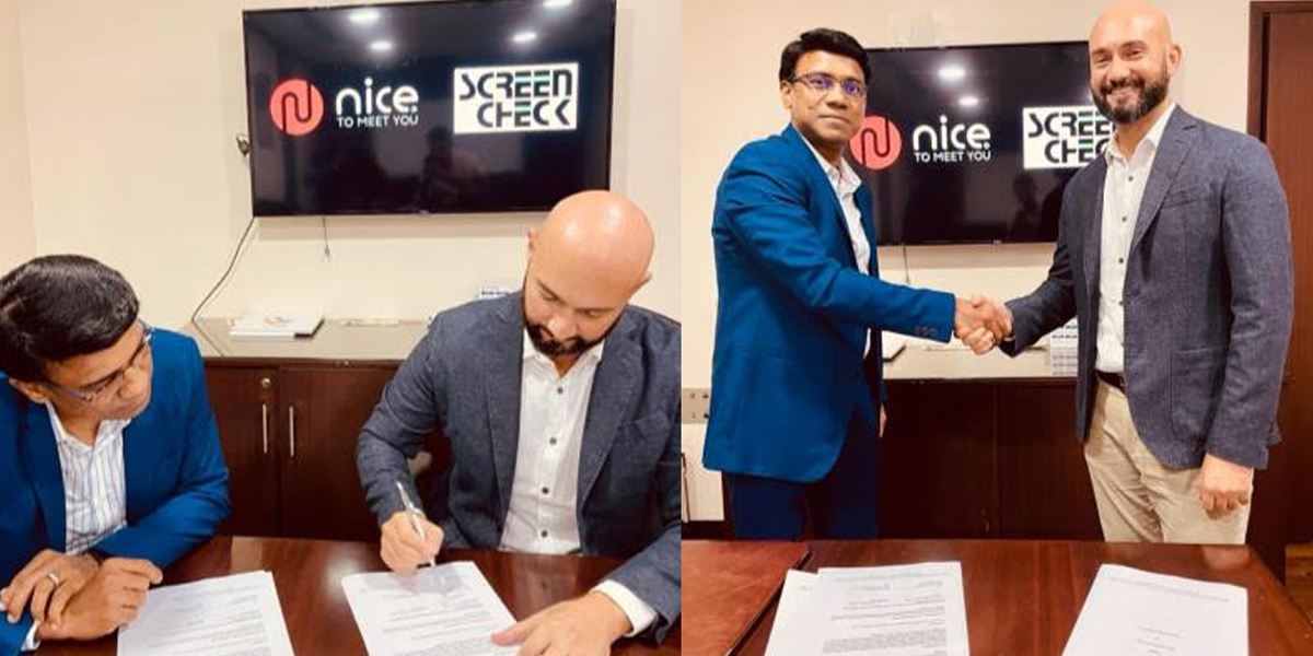 Screencheck and Nice to Meet You sign exclusive distribution agreement